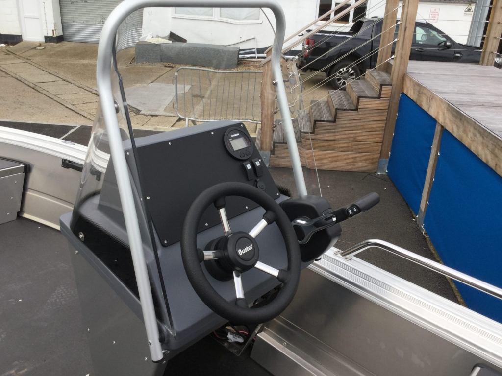 Stock - 1530 - Buster S Boat with Yamaha F25 engine - Helm