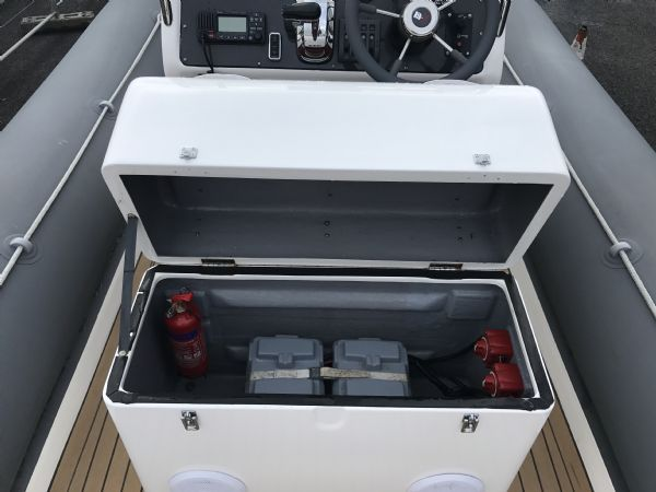 1499 - rib-x 7.6m rib with suzuki df250hp outboard engine - dual battery system and fire extinguisher_l