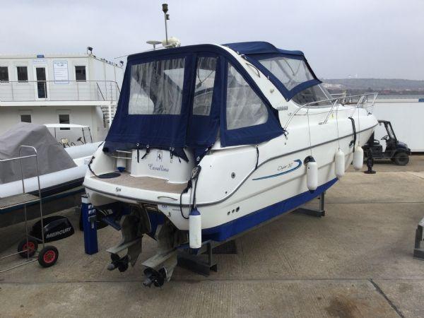 brokerage - 1495 - sessa oyster 30 with twin volvo diesel engines - aft port quarter_l