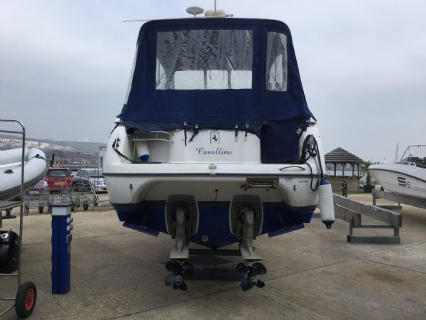 brokerage - 1495 - sessa oyster 30 with twin volvo diesel engines - stern_l