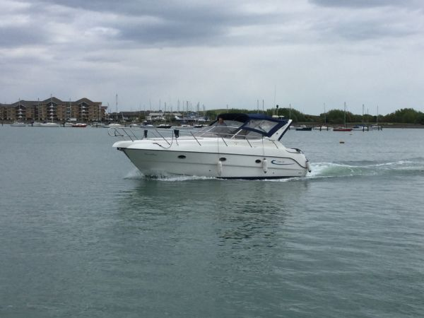 brokerage - 1495 - sessa oyster 30 with twin volvo diesel engines - under way 2_l