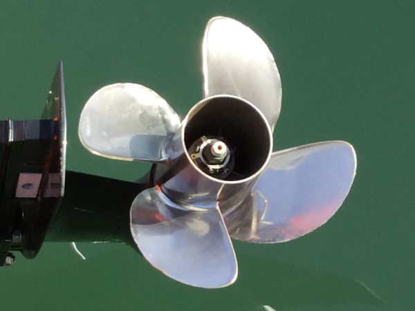 1486 - brokerage - shearwater cutter 6.8 rib with mercury 150 engine - stainless prop_l