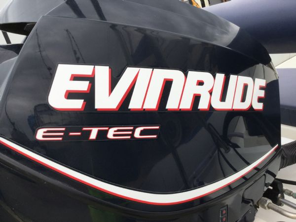 1481 - brokerage - gemini 6.0 mtr rib with etec 130 engine and trailer - evinrude cowling_l