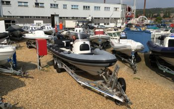 Used Ribcraft 7.8m with Suzuki DF250HP Outboard Engine and Trailer - Ribcraft 7.8m