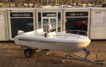 Used Selva 530 Hard Boat with Evinrude ETEC 25HP Engine and Trailer