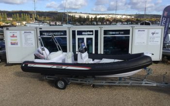 Used Selva 640 Evolution RIB with Selva XSR 150HP Outboard Engine and Extreme Trailer