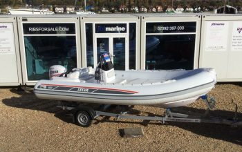 Used Selva 500 RIB with Selva XSR 60Hp Outboard Engine and Trailer