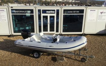 Used Mercury 4.2M RIB with Mercury 40HP Outboard Engine and Trailer