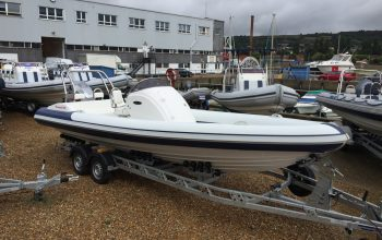 Second Hand Renegade 720 RIB is fitted 150HP outboard engine - Renegade 720