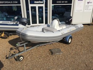 Excel Voyager 470 RIB for sale with Evinrude 60HP Outboard Engine - Voyager 470