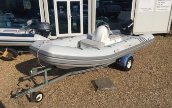 Used Excel 470 RIB with Evinrude 60HP Outboard Engine and Trailer