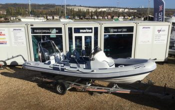Used Ribeye A600 RIB with Yamaha F100HP Engine and Trailer