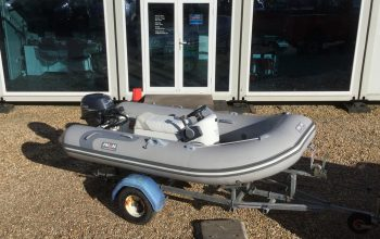 Used Avon 315 RIB with Yamaha 15HP and Trailer