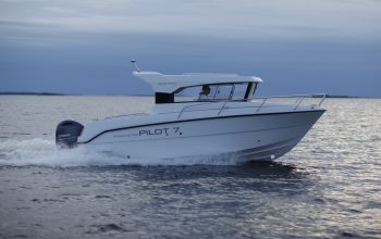 New Finnmaster Pilot 7 Weekend Cabin Cruiser with a Yamaha Outboard Engine