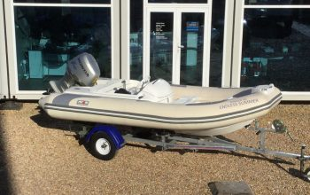 Used Avon Seasport 400DL RIB with Honda BF50HP Engine and Trailer