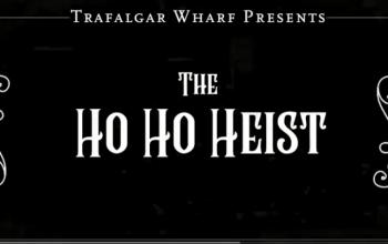 The 2018 Trafalgar Wharf Group Christmas Video - The ho ho heist logo