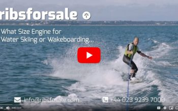 What size engine do I need for water skiing or wakeboarding - video