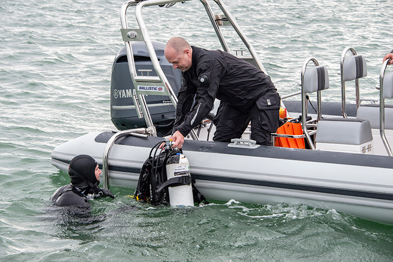 What makes a great RIB for watersports? - Boats for Snorkeling and Scuba Diving
