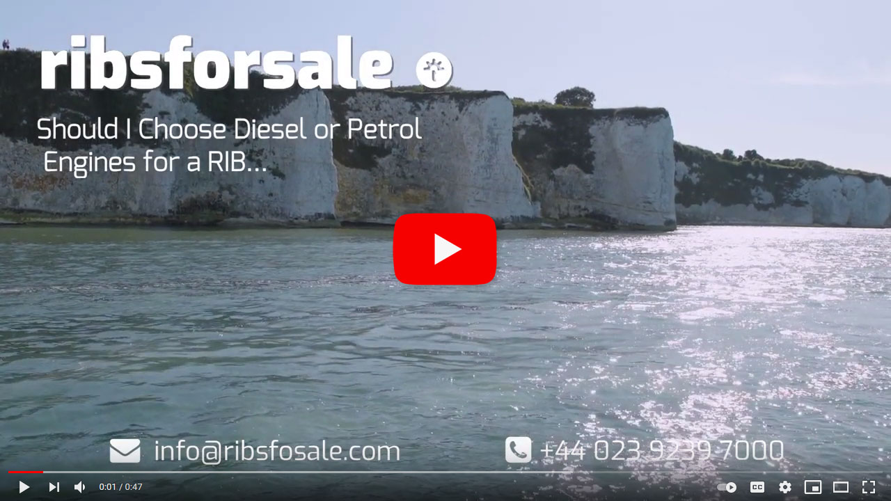 Buying a RIB boat? What's best diesel or petrol? - Video