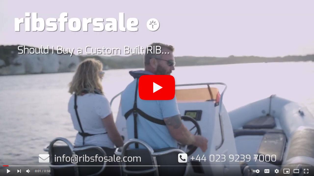 Customising my new RIB - good idea? - video