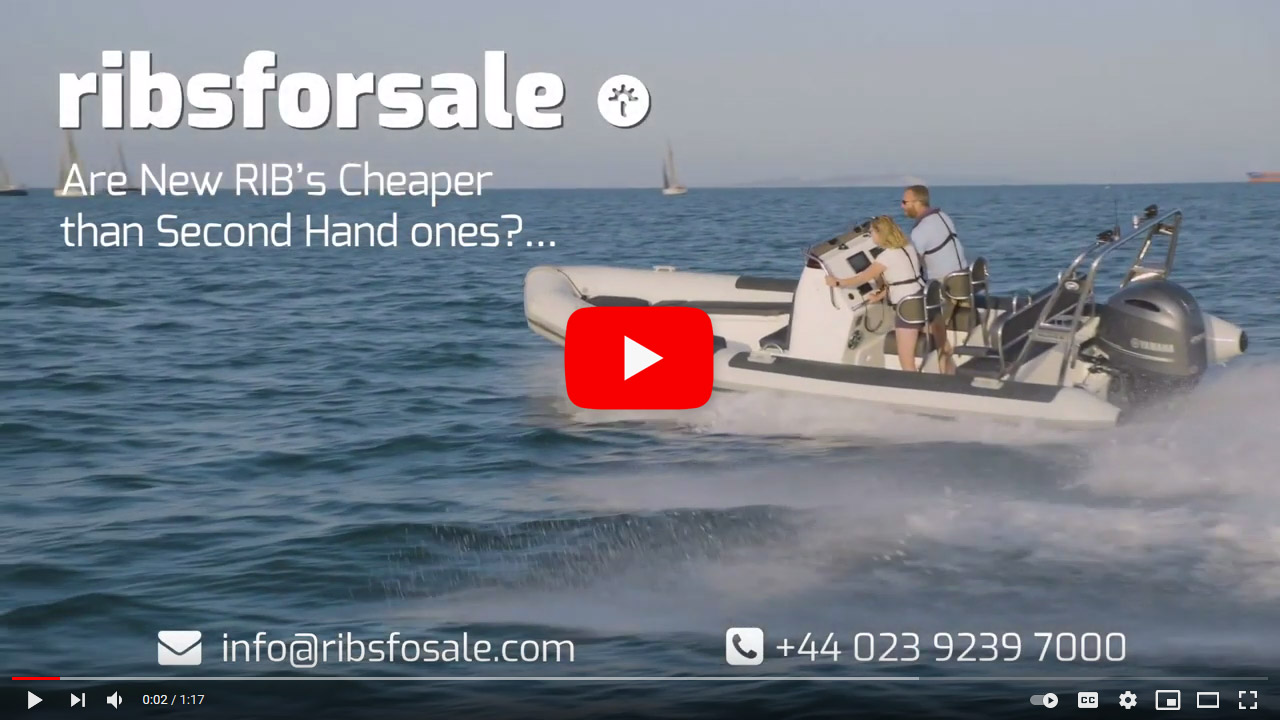 RIB Boats for Sale - New or Second Hand? What's cheaper? - video